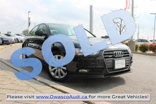 Used 2014 Audi A4 *SOLD* quattro Komfort w/ Xenon Plus Headlights for sale in Whitby, ON