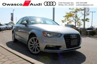 Used 2015 Audi A3 TDI quattro Progressiv w/ Interior LED Lighting for sale in Whitby, ON