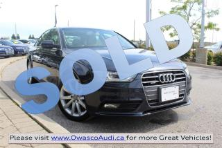 Used 2013 Audi A4 *SOLD* Premium w/ Bang & Olufsen Sound System for sale in Whitby, ON