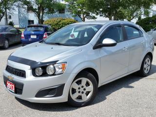 Used 2013 Chevrolet Sonic LS for sale in Cambridge, ON