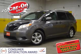Used 2016 Toyota Sienna L 7 Passenger PWR GRP TRI ZONE CLIMATE REAR CAM for sale in Ottawa, ON