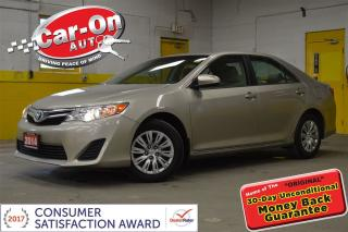 Used 2014 Toyota Camry LE POWER GROUP REAR CAM BLUETOOTH for sale in Ottawa, ON