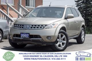 Used 2007 Nissan Murano SL | NO ACCIDENT | BACK UP CAMERA for sale in Caledon, ON