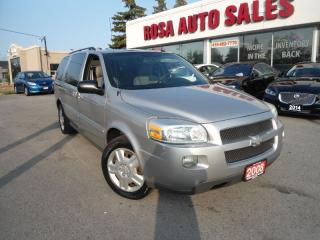 Used 2008 Chevrolet Uplander 5DR EXT VAN AUTO NO RUST LOW KM PW PL PM DVD DUAL for sale in Oakville, ON