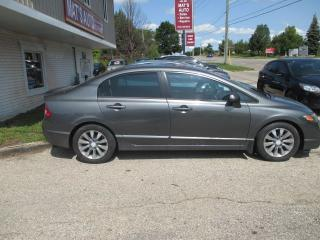 Used 2010 Honda Civic EX-L   SUNRF, LEATHER, HEATED SEATS, for sale in Waterloo, ON