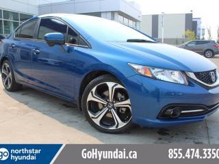 Used 2014 Honda Civic Si Sedan HEATED SEATS BACKUP CAM SUNROOF NAV for sale in Edmonton, AB