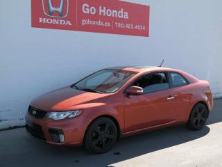 Used 2010 Kia Forte Koup 2.4L SX, LEATHER, AUTOMATIC for sale in Edmonton, AB