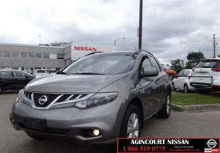 Used 2012 Nissan Murano SL |Leather|Moonroof|Camera| for sale in Scarborough, ON
