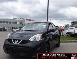 Used 2017 Nissan Micra SV  Bluetooth Cruise AC Low Ks  for sale in Scarborough, ON