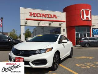 Used 2015 Honda Civic COUPE EX, one owner, clean carproof, automatic for sale in Scarborough, ON