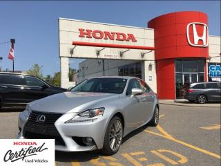 Used 2014 Lexus IS 250 very low kilometers, clean carproof report for sale in Scarborough, ON