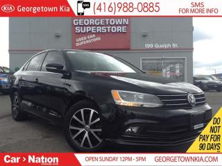 Used 2015 Volkswagen Jetta 2.0 TDI Comfortline | SUNROOF | BACK UP CAM for sale in Georgetown, ON