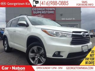 Used 2015 Toyota Highlander Limited | NAVI | PANO ROOF | LEATHER | AWD | for sale in Georgetown, ON