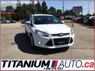 Used 2013 Ford Focus SE+Heated Seats+BlueTooth+MicroSoft SYNC+Fog Light for sale in London, ON