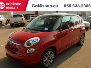 Used 2014 Fiat 500 L Sport, Pano Roof, Power Windows, Blue Tooth for sale in Edmonton, AB