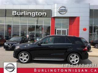 Used 2015 Mercedes-Benz ML-Class ML 350 BlueTEC for sale in Burlington, ON