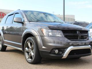 Used 2015 Dodge Journey CROSSROAD, HEATED SEATS, HEATED WHEEL, SUNROOF, BACKUP CAM, BUTTON START, BLUETOOTH, CRUISE CONTROL, REAR CLIMATE CONTROL for sale in Edmonton, AB