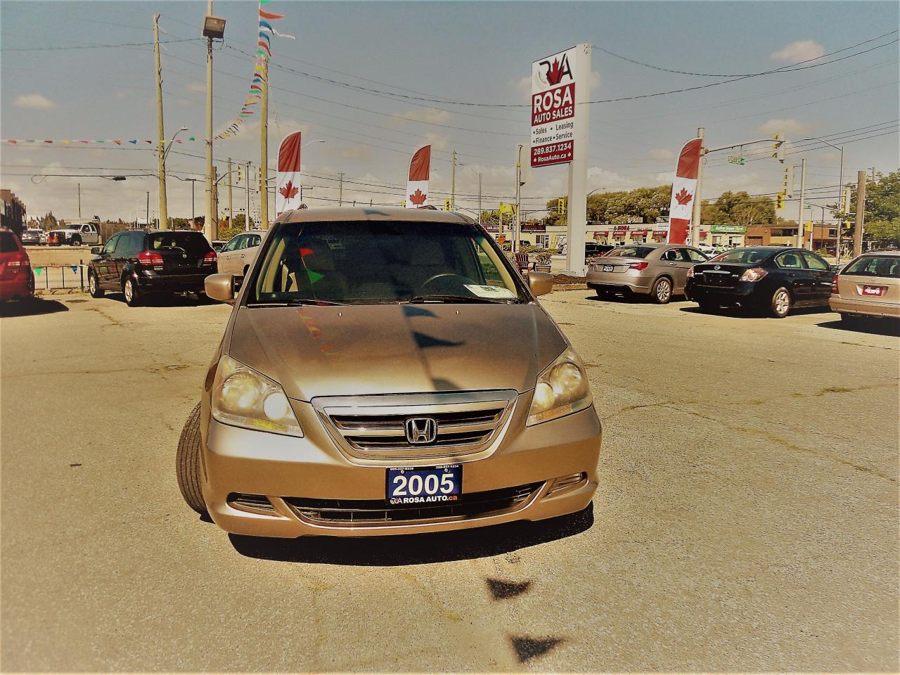 2005 Honda Odyssey 5dr EX AUTO 8 PASSENGER P SLIDDING DOORS  PW PM PL