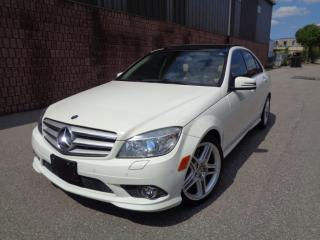 Used 2010 Mercedes-Benz C-Class C350 - 4MATIC - AMG PKG - NAVI - PANO ROOF for sale in Etobicoke, ON