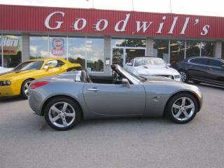 Used 2007 Pontiac Solstice CONVERTIBLE! for sale in Aylmer, ON