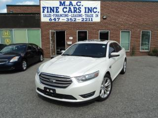 Used 2013 Ford Taurus SEL - NAVIGATION - LEATHER - SUNROOF for sale in North York, ON