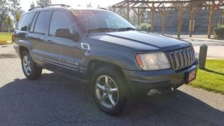 Used 2002 Jeep Grand Cherokee Overland for sale in West Kelowna, BC