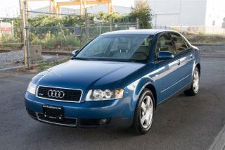 Used 2003 Audi A4 1.8T BACK TO SCHOOL SALE ON NOW! for sale in Langley, BC