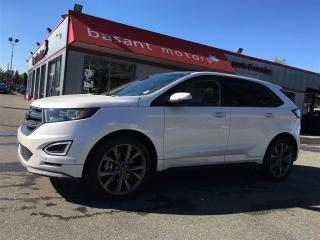 Used 2016 Ford Edge Sport, Self Parking, Heated/Vented Seats, Nav!! for sale in Surrey, BC