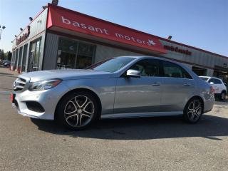 Used 2014 Mercedes-Benz E-Class Diesel, 360° Camera, Heated Seats, Nav, Sunroof!! for sale in Surrey, BC