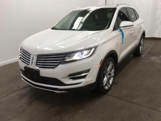 Used 2015 Lincoln MKC Reserve 2.3L EcoBoost 285HP Na for sale in Winnipeg, MB