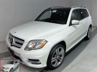 Used 2014 Mercedes-Benz GLK-Class GLK350 Nav Pano Roof 1-Owner A for sale in Winnipeg, MB