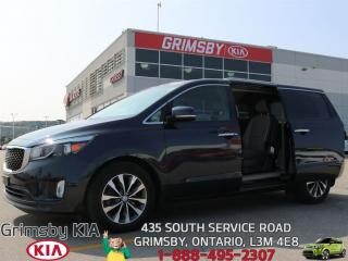 Used 2016 Kia Sedona SX+ for sale in Grimsby, ON
