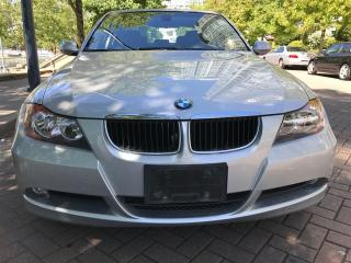 Used 2008 BMW 323i 6SP MANUAL,LOCAL,NO ACCIDENT,CAME FROM BMW STORE. for sale in Vancouver, BC