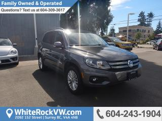 Used 2016 Volkswagen Tiguan Special Edition Heated Front Seats, Remote keyless Entry, Cruise Control, Rear View Camera & Power Moonroof for sale in Surrey, BC