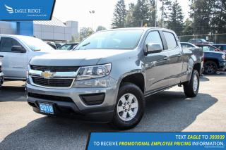 New 2018 Chevrolet Colorado WT Backup Camera and Air Conditioning for sale in Port Coquitlam, BC