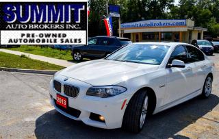 Used 2013 BMW 535 I M SPORT PACKAGE | AWD | ROOF | CAMERA | BLUETOOTH for sale in Richmond Hill, ON