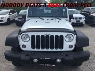 Used 2016 Jeep Wrangler Sport**A/C**NEW TIRES**BLUETOOTH**ALPINE AUDIO** for sale in Mississauga, ON