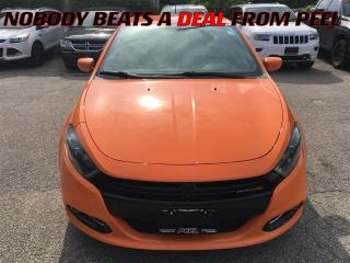 Used 2014 Dodge Dart SXT**RALLYE GRP**17 BLACK ALLOYS**BLUETOOTH** for sale in Mississauga, ON