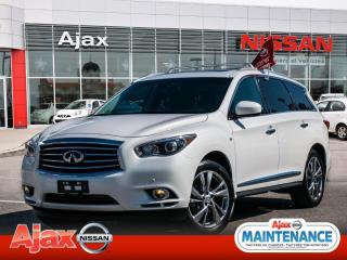 Used 2014 Infiniti QX60 Navigation*DVD*Pearl White for sale in Ajax, ON
