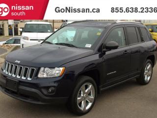 Used 2012 Jeep Compass LIMITED - LEATHER, SUNROOF, NAVIGATION!! for sale in Edmonton, AB