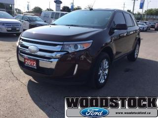 Used 2012 Ford Edge Limited 300A, 3.5L V6 Engine, Navigation System for sale in Woodstock, ON