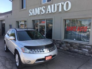 Used 2007 Nissan Murano SL for sale in Hamilton, ON