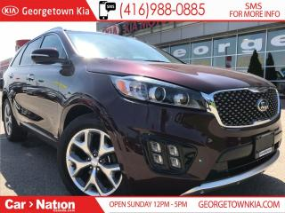 Used 2018 Kia Sorento SX V6 7 SEATS | $245 BI-WEEKLY | 2 LEFT | for sale in Georgetown, ON