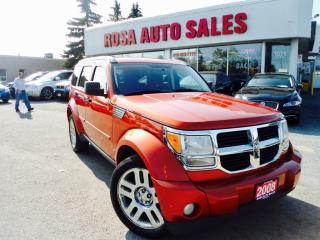 Used 2008 Dodge Nitro 4WD 4dr SE NO ACCIDENT PW PL PM A/C SAFETY NO RUST for sale in Oakville, ON