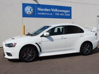Used 2015 Mitsubishi Lancer Evolution GSR 4dr All-wheel Drive Sedan for sale in Edmonton, AB