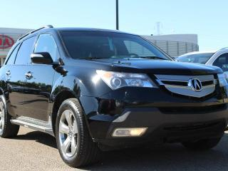 Used 2008 Acura MDX ELITE, FRONT AND MID HEATED SEATS, BACKUP CAM, DVD PLAYER, POWER TAILGATE, SUNROOF, CRUISE CONTROL, BLUETOOTH for sale in Edmonton, AB