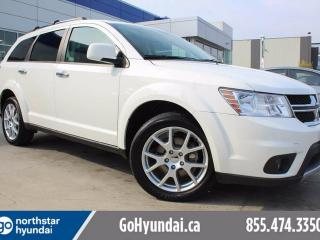 Used 2017 Dodge Journey GT AWD Leather 7 Pass Back Up Camera for sale in Edmonton, AB
