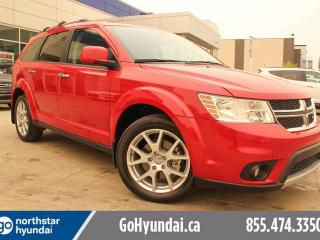 Used 2015 Dodge Journey R/T 7 PASS LEATHER SUNROOF DVD NAV for sale in Edmonton, AB