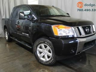 Used 2014 Nissan Titan S 4x4 Crew Cab / Rear Back Up Camera for sale in Edmonton, AB