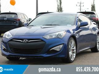 Used 2016 Hyundai Genesis Coupe 3.8 R SPEC BREMBO BRAKES SPOILER 1 OWNER ACCIDENT FREE LOCAL for sale in Edmonton, AB